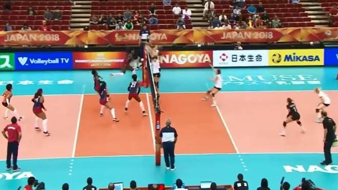 Deutschlands Volleyballerinnen kämpfen bei der WM um eine Top-Ten-Platzierung