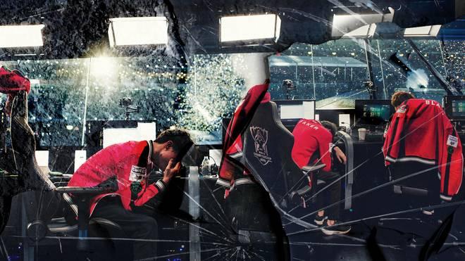 Auch eSportler haben unter immensem Druck zu leiden, der sich oftmals auch körperlich auswirkt.