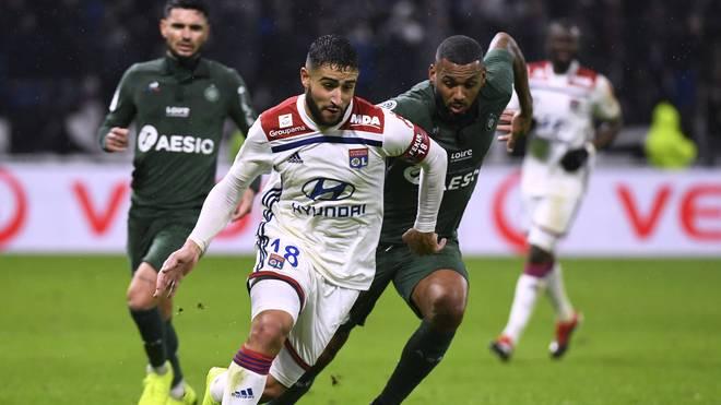 Nabil Fekir traf in dieser Saison in zehn Ligaspielen zweimal für Olympique Lyon