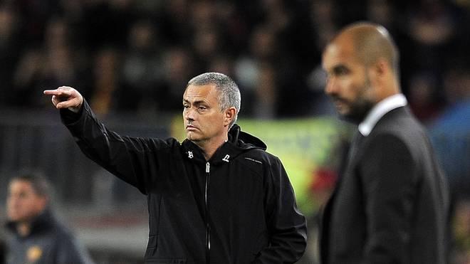 Pep Guardiola und Jose Mourinho treffen in der kommenden Premier-League-Saison aufeinander