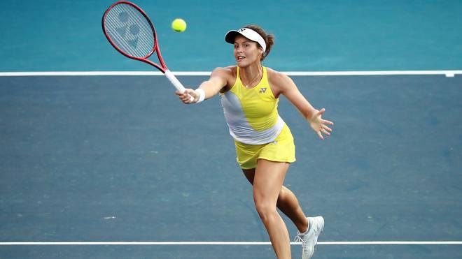Tatjana Maria steht in Indian Wells in der zweiten Runde