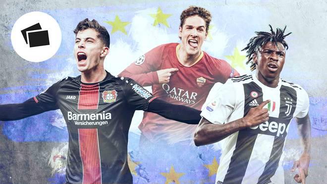 Kai Havertz, Nicolo Zanolo oder doch Moise Kean? Wer ist der beste Teenie-Torschütze Europas? SPORT1 macht den Check