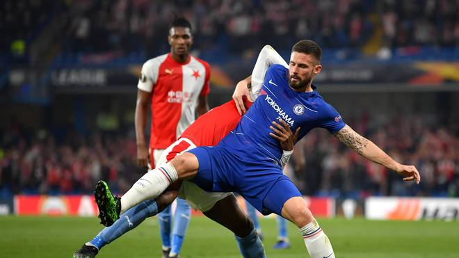 Chelsea v Slavia Praha - UEFA Europa League Quarter Final : Second Leg