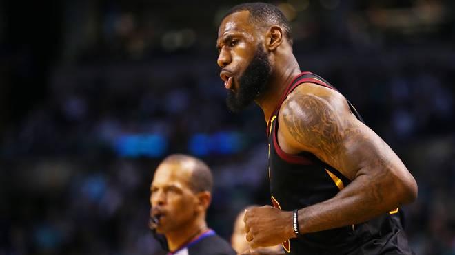 LeBron James schrammte an einem Triple Double vorbei