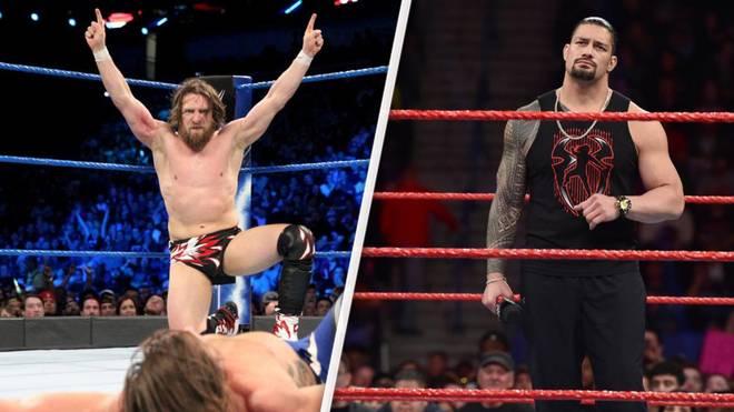 SmackDown mit Daniel Bryan (l.) wurde beim WWE Draft besser verstärkt als RAW mit Roman Reigns
