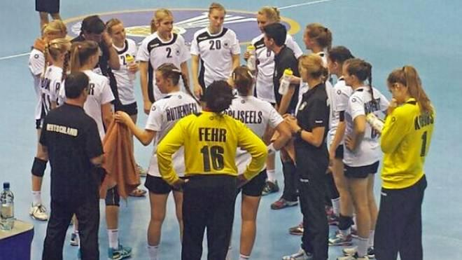 Die deutschen Juniorinnen verloren das Bronze-Match gegen Rumänien mit einem Tor