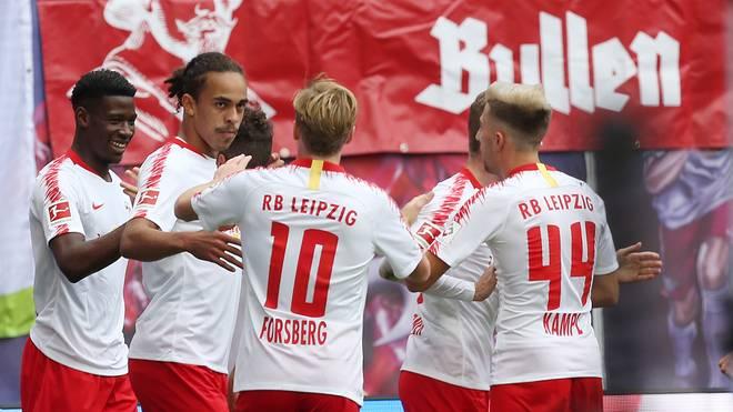 Bundesliga Eintracht Frankfurt Rb Leipzig Live Im Tv Stream Ticker