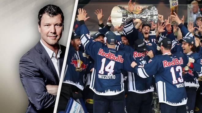 Rick Goldmann lobt die Arbeit des EHC Red Bull München