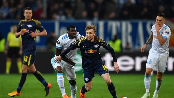 RB Leipzig schied gegen Marseille in der UEFA Europa League aus