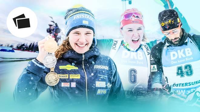 Die Tops und Flops der Biathlon-WM
