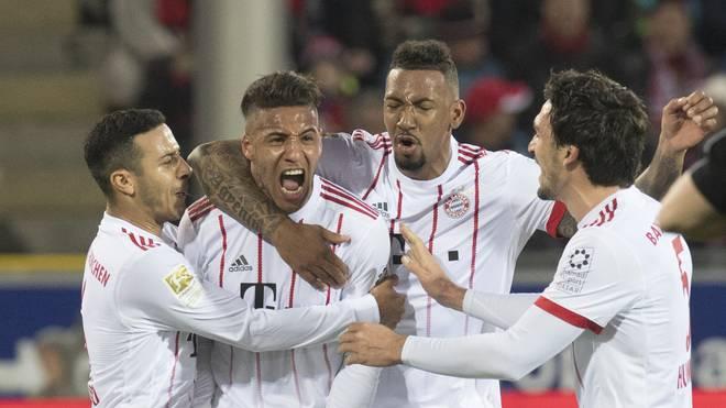 Die Bayern auf dem Weg zum Titel: Am 27. Spieltag könnte es soweit sein
