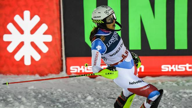 ALPINE SKI-WORLD-WOMEN-SWE-DOWNHILL-SLALOM