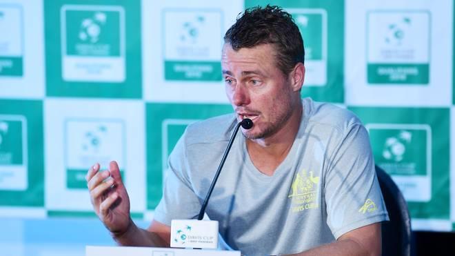 Davis Cup: Lleyton Hewitt kritisiert neues Format, Lleyton Hewitt ist Australiens Teamchef im Davis Cup