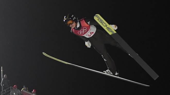 Katharina Althaus wurde letzte Saison Zweite im Gesamtweltcup