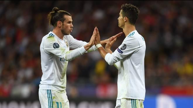 Zwischen 2013 und 2018 spielten Gareth Bale und Cristiano Ronaldo zusammen bei Real Madrid