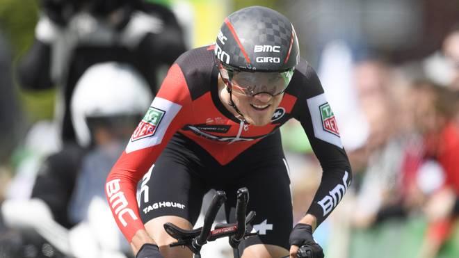 Tejay van Garderen fährt für das Team BMC Racing