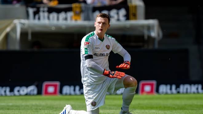 Dynamo Dresden: Torhüter Markus Schubert aus dem Kader gestrichen , Torhüter Markus Schubert zog ich den Unmut der Dresdner Fans zu