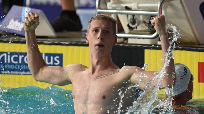 Der deutsche Schwimmer Florian Wellbrock hat bei den 800 m Freistil Bronze geholt