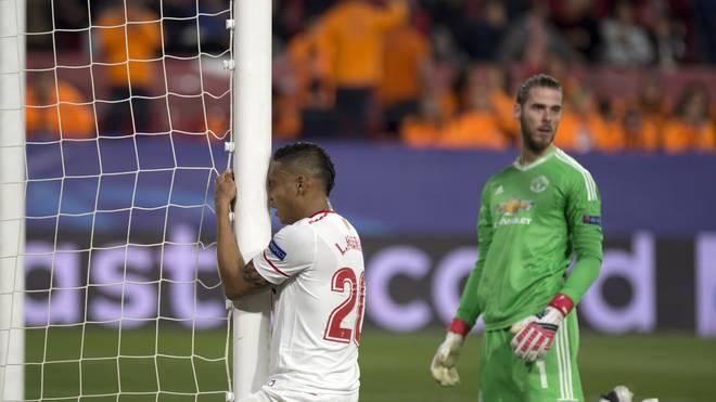 David De Gea rettete mit einigen Paraden Manchester United vor einer Niederlage in Sevilla