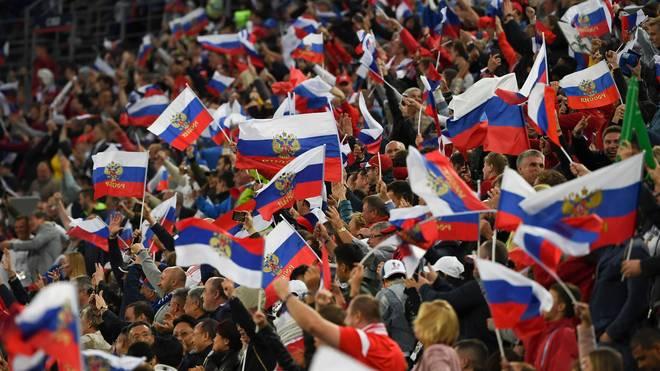 Die russische Nationalmannschaft scheiterte bei der WM 2018 erst im Viertelfinale