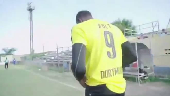 Usain Bolt will bei Borussia Dortmund ein Probetraining absolvieren