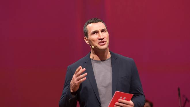 Wladimir Klitschko Launch Event
