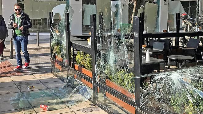 Cafe in Thessaloniki