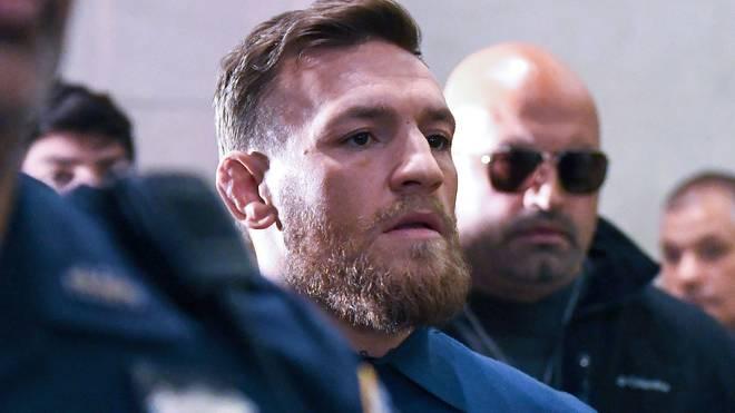 Conor McGregor rastete am Donnerstagabend komplett aus