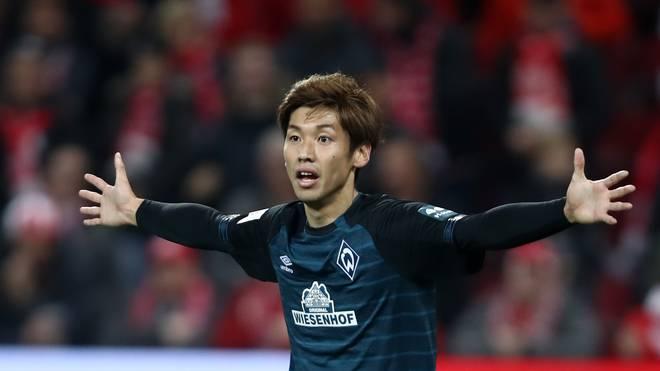 Yuya Osako von Werder Bremen machte bisher 30 Länderspiele für Japan