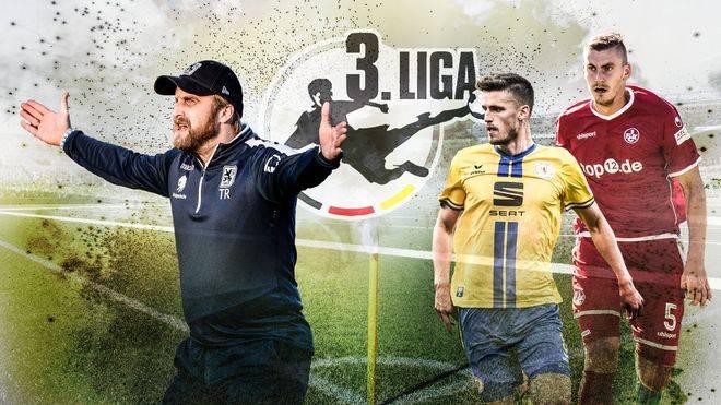 Die Highlights der 3. Liga ab sofort auf SPORT1