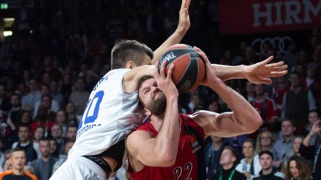 Kapitän Danilo Barthel steuerte zwölf Punkte zum Sieg der Bayern-Basketballer bei