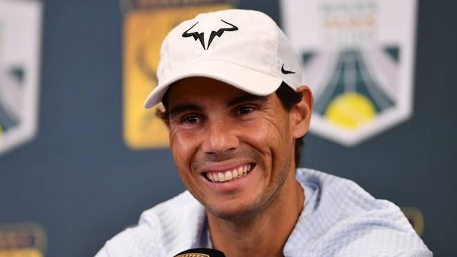 Rafael Nadal will nach den Verletzungen der vergangenen Saison wieder angreifen