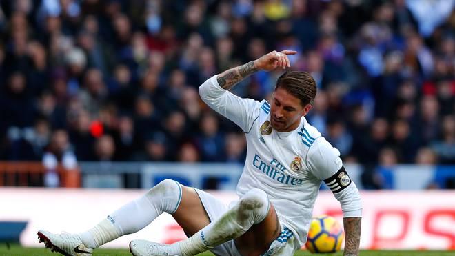 Sergio Ramos legt bei Real Madrid eine verletzungsbedingte Pause ein