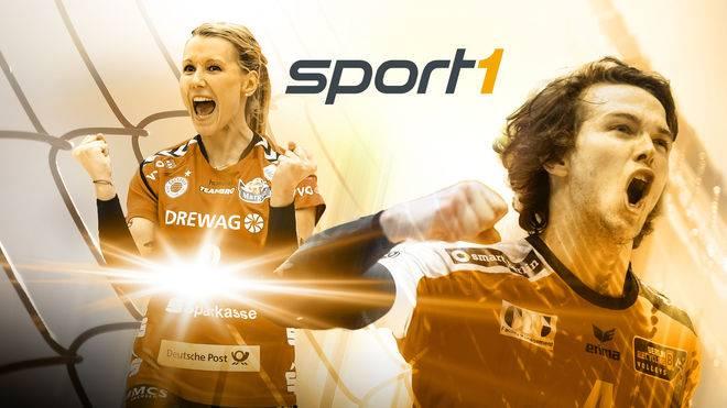 SPORT1 überträgt bis einschließlich der Saison 2020/2021 die Spiele der Volleyball Bundesliga