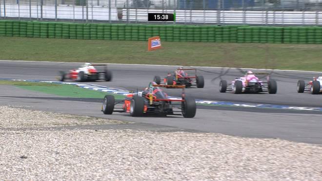 Formel 4: Lirim Zendeli siegt in letztem Rennen, David Schumacher wird Fünfter