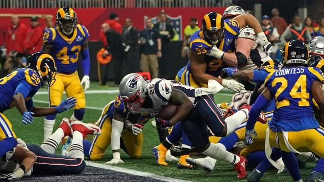 Die New England Patriots siegten im Super Bowl gegen die Los Angeles Rams