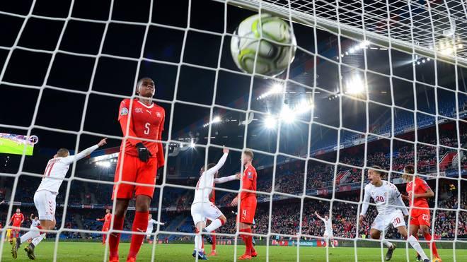 Dänemark gelang gegen die Schweiz in der letzten Minute der Ausgleich
