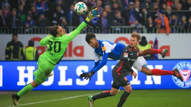 In einem packenden Topspiel trennten sich Holstein Kiel und Fortuna Düsseldorf remis