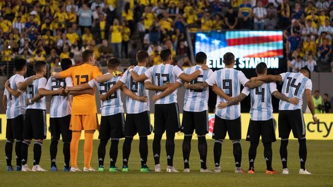 Fussball: Zoll erwischt Argentiniens Nationalmannschaft beim Schmuggeln, Die argentinische Nationalmannschaft absolvierte zwei Tests in den USA