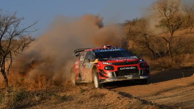 FIA World Rally Championship Guanajuato Mexico - Day Two