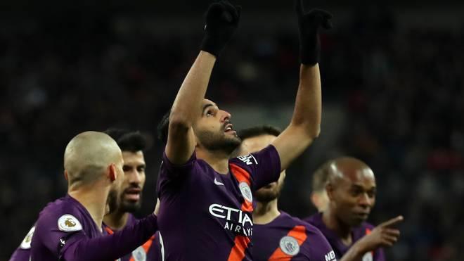Riyad Mahrez von Manchester City gedachte dem verstorbenen Leicester-Besitzer