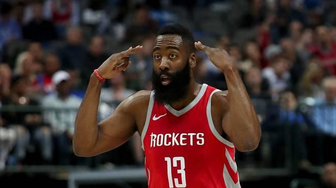 Auch Superstar James Harden konnte die Niederlage der Rockets nicht verhindern