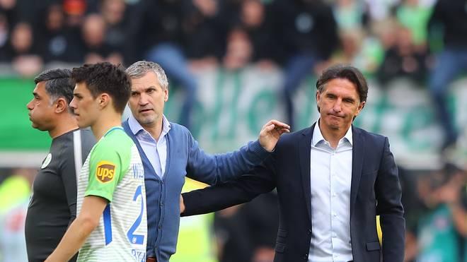 Bruno Labbadia soll den VfL Wolfsburg vor dem Abstieg bewahren