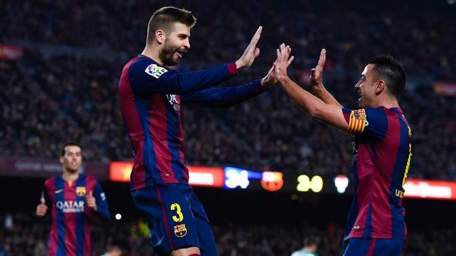 Xavi und Pique für Nationalmannschaft von Katalonien nominiert