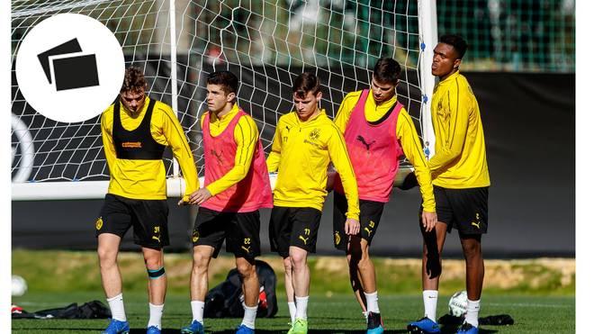 Der BVB bereitete sich im spanischen Marbella auf die Rückrunde vor