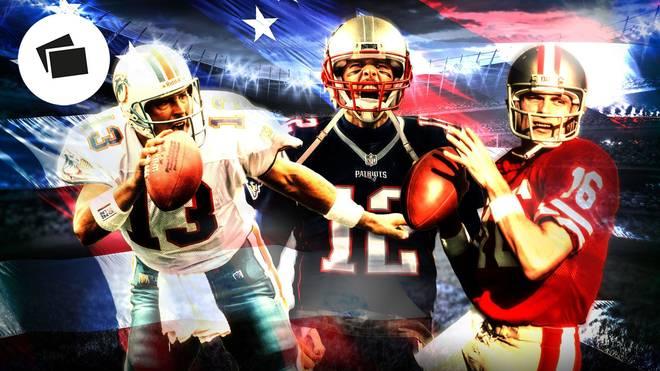 Tom Brady, NFL, Quarterbacks, GOAT-Ranking, Joe Montana, Dan Marino