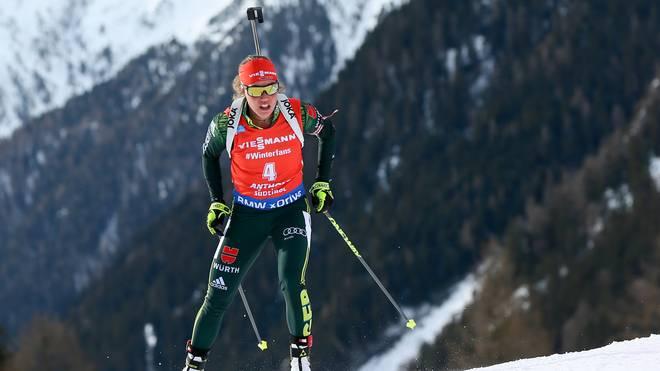 Biathlon In Antholz Massenstart Der Damen Herren Live Im Tv