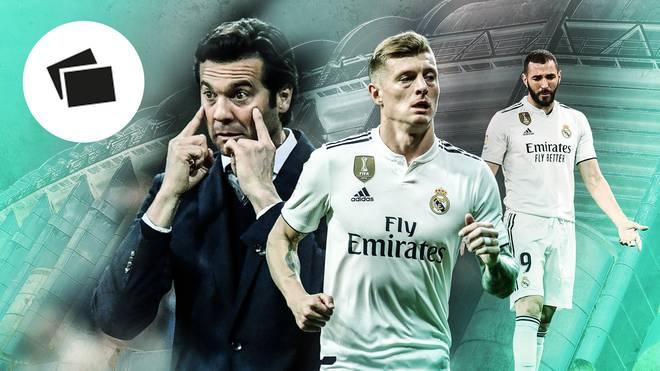 Die Sündenböcke bei Real Madrid mit Santiago Solari, Toni Kroos und Karim Benzema
