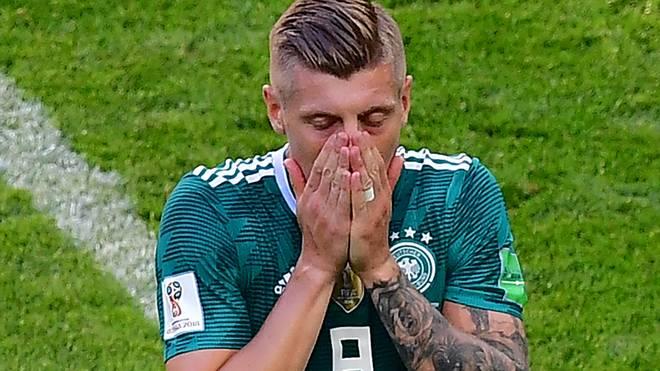 Toni Kroos scheidet mit Deutschland nach der Vorrunde aus