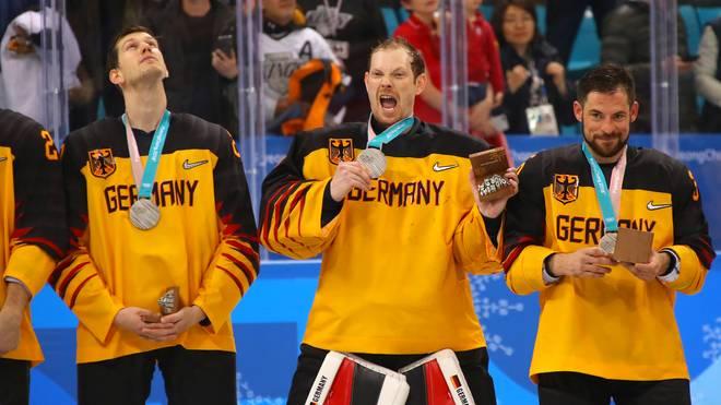 Deutschland gewann bei Olympia 2018 die Silber-Medaille